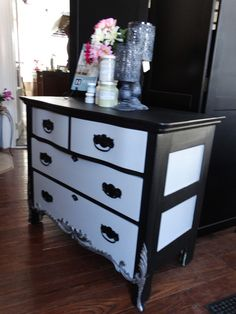 Fusion mineral paint transformed this piece into a beautiful addition to any home.