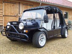 Mini's Version of a SUV >>> the Moke    This thing is tiny.