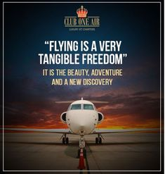 """Flying is a very tangible freedom"". It is the beauty, adventure and a new discovery. #COAinspiration #aviation #aviationdaily #charterplanes #charterplane #airplane #airplanes #cessna #privateplane #pilot #pilotlife #pilotsofinstagram #crew #flightcrew #womenempowerment #womeninspiringwomen #womenpower #aviationlovers #aviation4u #aviationlife #aviationworld #cessnacitation #falcon #aviationpics #aviationgeek #aviationphotography #quotes"