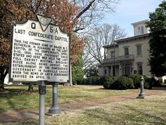 Danville, Virginia site photos: Last Confederate Capitol Gothic Revival Architecture, War Memorials, Virginia History, Virginia Is For Lovers, Old Dominion, Commonwealth, American History, Breeze, Markers
