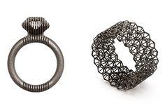 Cinnamon Lee's titanium rings. Photo by John Lee