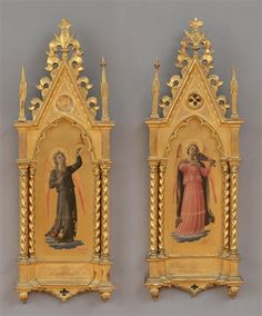Artworks of Fra Angelico (Italian, 1387 - 1455) from galleries, museums and auction houses worldwide.
