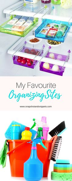 Here is a list Favourite Organizing sites one that will help you turn from a messy slob into a neat freak and have a happy tidy home. Fridge Organization, Staying Organized, Cleaning, Organizing Ideas, My Favorite Things, Cool Stuff, Irish, Parenting, Top