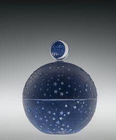 Rene Lalique: Worth Powder Box, glass, 1926  Corning Museum of Glass