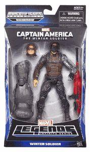Marvel Legends Infinite Figura de acción de 6 pulgadas Capitán América Soldado de invierno Wave 2 - Soldado de invierno