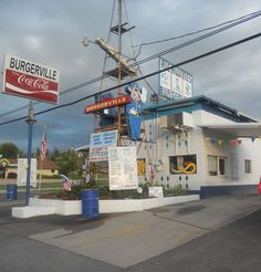 Richwines Burgerville in Polson Montana...home of best burger ever!