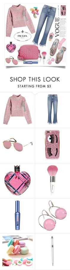 """PRADA SHOES AND BAG"" by qstyled ❤ liked on Polyvore featuring 3.1 Phillip Lim, Frame, Tom Ford, Prada, Chiara Ferragni, Vera Wang, Guerlain, Benefit, Marni and Swarovski"