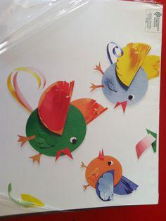 Cute idea for bird craft