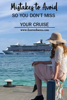 Taking a cruise? Don't be denied boarding. Mistakes to avoid so you don't miss your cruise helps you know what you need, know the rules and have the right documents. Cruise Port, Cruise Tips, Cruise Travel, Patagonia, Best Cruise Deals, Sailing Adventures, Miss You, Mistakes, First Time