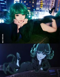 When the cosplay is as good as the anime