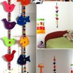 Child's+Room+Felt+Decoration