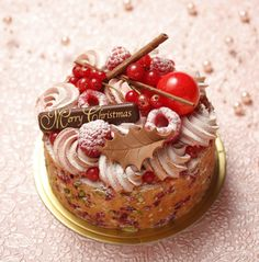 Christmas patisserie