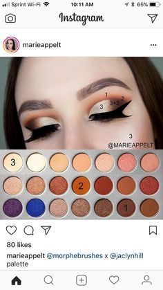 Image result for jaclyn hill palette looks step by step