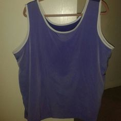 I just added this to my closet on Poshmark: Susan Graver 1X, Women's Tank, wide 2Shades Purple. Price: $14 Size: 1X