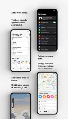 Ios 13 Phoneos On Behance In 2020 Homescreen Iphone Best