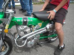 Honda 250 engine and street legal