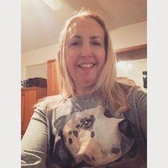 Post Pilates selfie. #selfie #dalmationsofinstagram #dalmation #postworkoutselfie #lovemyshirt #dogshirt #plunkett #gladthatsover by sjp616 #lacyandpaws