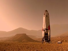 The new series, Mars, mixes documentary and speculation to tell the parallel stories of  fictional future explorers and the pioneers of today.