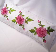 Rose Border Pillow