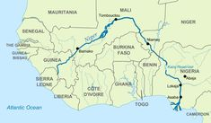 how navigable is the Senegal River - Yahoo Image Search Results Africa Map, West Africa, French Guinea, Word Map, World Geography, Guinea Bissau, Sierra Leone, History, Inspirational Quotes