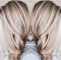 ideas for hair color blonde platinum balayage haircuts - Hair Colors Blonde Ideen Brown Blonde Hair, Platinum Blonde Hair, Blonde Fall Hair Color, Blonde Hair Fall 2018, Red Hair, Blonde For Fall, Blonde Hair With Dark Highlights, Blonde Hair Lowlights, Grown Out Blonde Hair