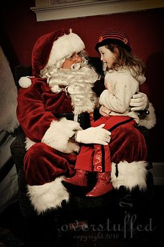 I believe in Santa Claus: a letter to children who are beginning to question Santa.