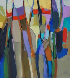"Saatchi Online Artist: Cathryn Miles; Oil, 2012, Painting ""A change of seasons"""