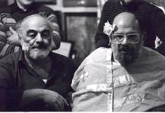 Sergei Parajanov and Allen Ginsberg Allen Ginsberg, Persecution, Hair Cuts, Pomegranates, Collage, Portraits, Colour, Google, Pretty