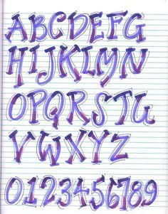 graffiti arm letter name alphabet Alphabet Design, Hand Lettering Alphabet, Doodle Lettering, Creative Lettering, Graffiti Lettering, Calligraphy Letters, Typography Fonts, Lettering Design, Brush Lettering
