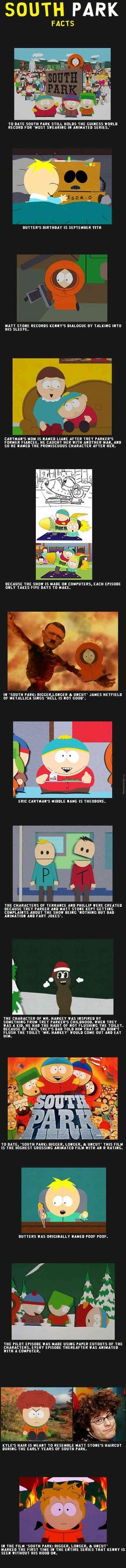 South Park Facts MadeItFunny. Funny, amusing website. Made to make you laugh.