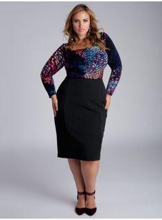 Monroe Plus Size Skirt by Igigi on CurvyMarket.com