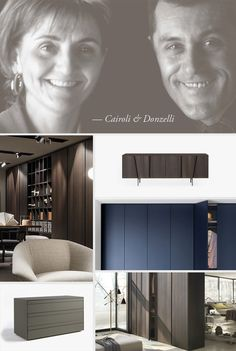 The studio Cairoli & Donzelli was born in 1992 and looks after design and development of products as well as Design Products, Flat Screen, Furniture Design, Study, Portrait, Studio, Headshot Photography, Men Portrait, Portrait Paintings
