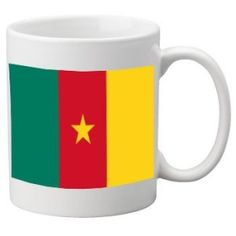 Cameroon Flag Ceramic Mug available @ http://www.world-cup-products-worldwide.com/super-cameroon-2014-football-world-cup-mens-t-shirt/.