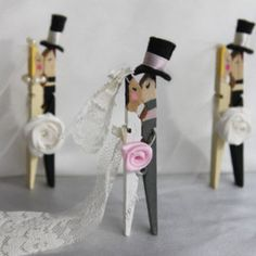 large peg bride and groom image - Google Search