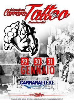 Expo Carrara Tattoo Viale Galileo Galilei, 29 - 31 Janvier 2016