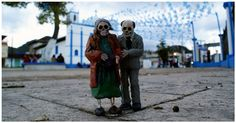 This Artist Leaves Tiny Cement Skeletons To Haunt The Streets Of Mexico