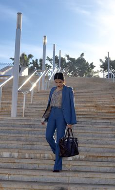 S U I T E D | As I Dress  Suit   Moroccan fashion blogger   Working girl