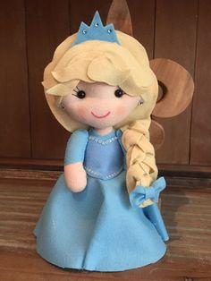 Ana e Elsa Cute em Feltro!