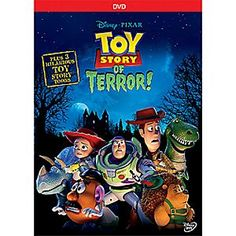 Disney-Pixar presents an all-new animated tale featuring your favorite <i>Toy Story</i> characters. Join Woody, Buzz, Jessie and their pals in a frighteningly fun mystery adventure. Also includes three <i>Toy Story Toons</i>!