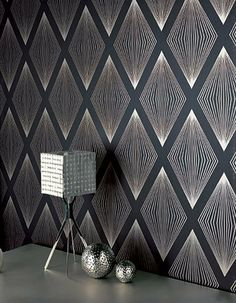 geometric removable/self adhesive wallpaper.. potential to cover my fridge!
