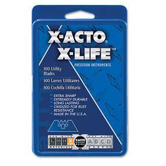 Craft Knives and Blades 83982: X-Acto Surgrip Utility Knife Blades 100 Pack X692 -> BUY IT NOW ONLY: $31.24 on eBay!