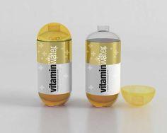 Vitamin water capsule