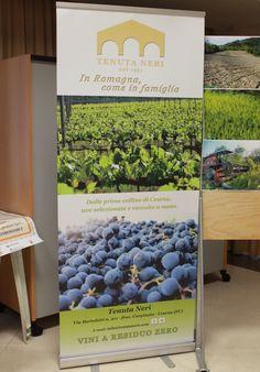 Tenuta Neri, dalle prime colline di #Cesena uve selezionate e raccolte a mano - Antica Fiera della Canapa #Gambettola 22 Novembre 2014 #tenutaneri