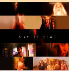 Buffy the Vampire Slayer ended 10 years ago, May 20, 2003