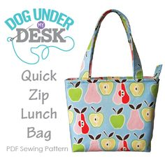 This is a PDF Sewing Pattern. You must be able to open and print a PDF file. This is a digital sewing pattern, not a finished bag. 22 page full color tutorial 8 pages of computer generated pattern …