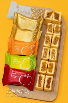 Taiwan Pineapple Cake, Snack Recipes, Snacks, Waffles, Mango, Chips, Taiwan Travel, Packaging, Breakfast