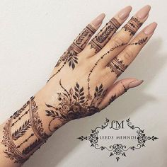 20 Latest And Stylish Mehndi Designs For Bridals - Sensod - Create. 2018 latest mehndi design 20 Latest And Stylish Mehndi Designs For Bridals - Sensod - Create. Henna Hand Designs, Mehndi Designs Finger, Stylish Mehndi Designs, Bridal Henna Designs, Mehndi Design Photos, Mehndi Designs For Fingers, Mehndi Art Designs, Latest Mehndi Designs, Henna Tattoo Designs