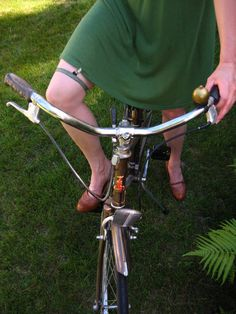 Skirt garter/clip for biking by BirdIndustries on Etsy, $12.00.