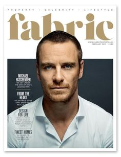 Fabric magazine cover february 2012 - michael-fassbender Photo