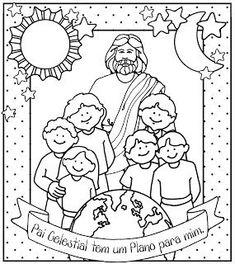 Resultado de imagem para desenhos do plano de salvação para colorir